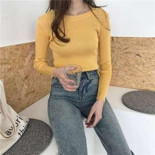 🚚 Mustard Knit Sweater