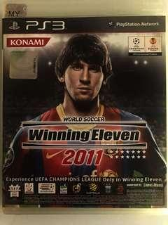 🚚 PS3 World Soccer Winning Eleven Game Disc