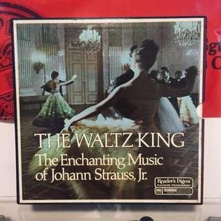The Waltz King - The Enchanting Music Of Johann Strauss, Jr. 黑膠