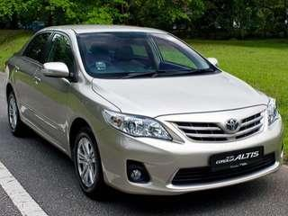 Toyota Altis $399weekly 2008
