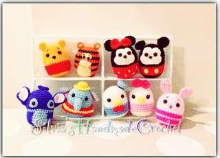 💕 Crochet Tsum Tsum Disney