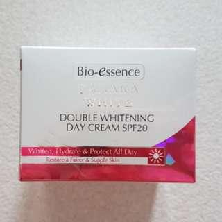 Brand New Bio-Essence Tanaka White Double Whitening Day Cream SPF20