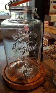 8 litres Glass Drink Dispenser