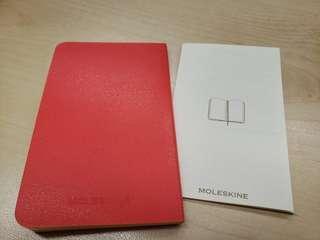 Moleskine small notebook