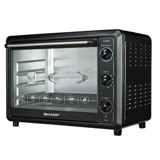 Sharp Electric Oven 60 Litre / EO-60K / Grill and Rotisserie Oven