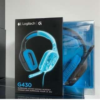 全新未開封 Logitech G430 7.1 環迴立體聲 Headphone 耳筒