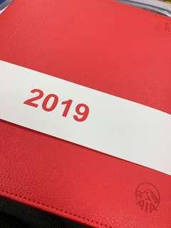 2019 schedule book