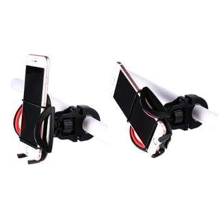 360 DEGREE ROTATION PHONE MOTORCYCLE BIKE BICYCLE MOUNT HOLDER