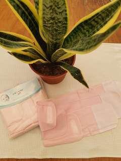 3pcs set baby binder pink