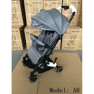 Stroller Space Baby A8 Stroler Bayi Kereta Dorong Bisa Tarik Spt Koper