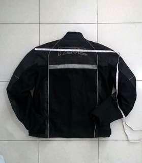 IZ-2 Superbike Motorcycle Riding Jacket Cordura Black