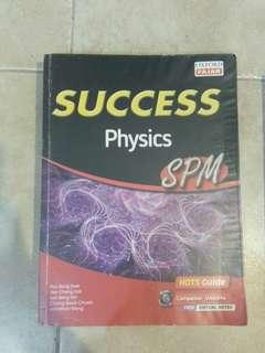 SPM Physics Reference Book