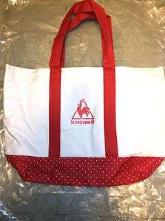 Le Coq Sportif Tote Bag.  Brand new.  20.5 inches x 14 inches x 6 inches.
