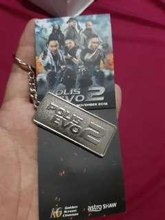 Polis evo2 keychain