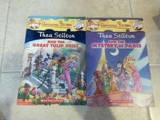 Thea Stilton Novels