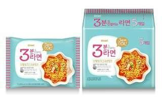 🚚 韓國 Emart 三分鐘拉麵 (108gx5包) 韓國泡麵