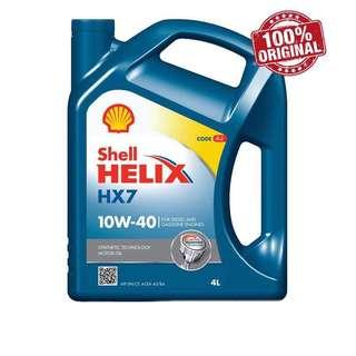 Shell Helix HX7 Semi Synthetic Engine Oil 10W-40 (4L)