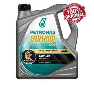 Petronas Syntium 800 Semi Synthetic 10W-40 SN/CF Engine Oil (4L)