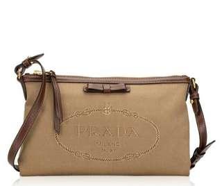 PRADA 1BA106 BLUETTE NYLON SAFFIANO TOTE BAG, Luxury, Bags   Wallets ... 829d987d5a