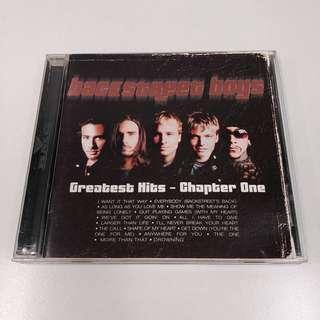 BACKSTREET BOYS Greatest Hits Chapter One CD