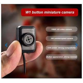 Hidden Camera Button Mini Spy Cam
