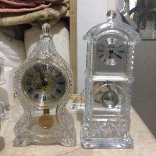 Crystal clocks