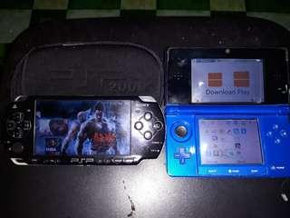 Psp2000 and Nintendo3ds