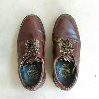 🚚 US 6.5 DR CARDIN Leather Boots (Dr Martens Shoes Lookalike)