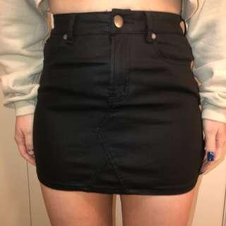 Cotton On pleather skirt