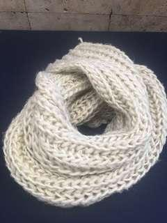Winter Scarf cable knit