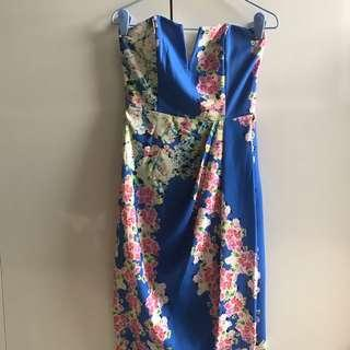 🚚 MDS Floral Bustier Dress