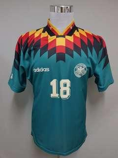 Jersey Germany 1994 away jersi