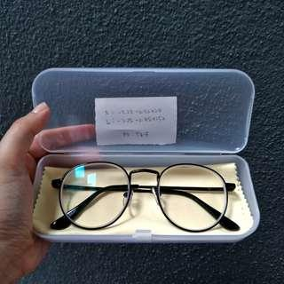 Oval 1.0 Spectacles Eyewear Frames with Power (Rabun Jauh)