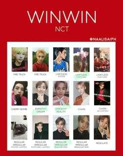 [WTB/LF] NCT WINWIN & JAEHYUN ALBUM PHOTOCARD