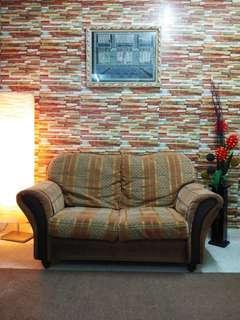 Sofa 2 Seater Tahan Lasak