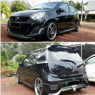 Front bumper axia