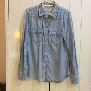 Topshop Denim Shirt