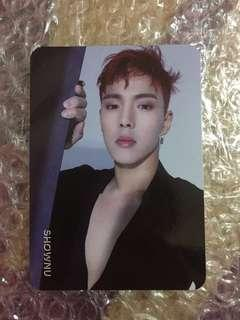 Monsta X Shownu Are You There photocard