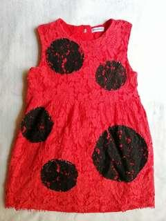D&G Red Lace Dress