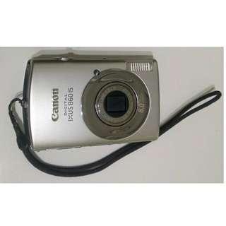 🚚 佳能 Canon DIGITAL IXUS 860IS 數位相機