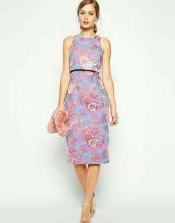 ASOS Jacquard Cropped Top Dress