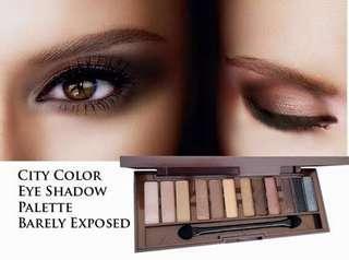 Eyeshadow smokey eyes (barely exposed)