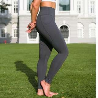 FITTA Inspire High-Rise Legging In Slate Gray