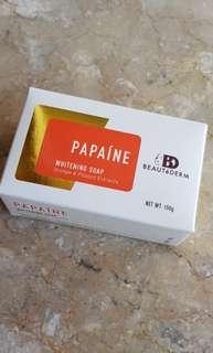 Beautederm Papaine Whitening Soap 150g Original Authentic