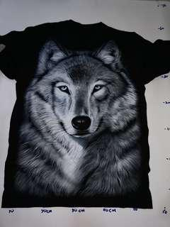 T shirt Clearance wolf picture