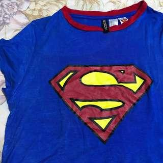 H&m superman fit body tee