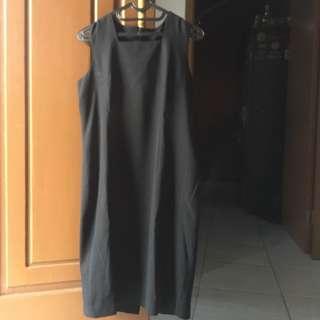 Dress Black Formal Wanita