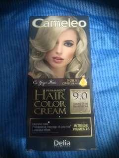 🚚 Delia Cameleo Hair Color Cream 9.0 - Natural Blond