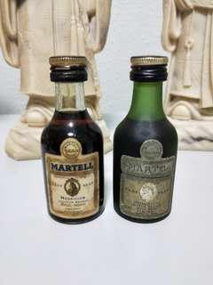 Martell miniature pair (2 for $15)