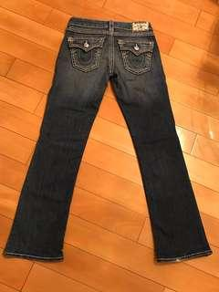 True Religion Jeans 牛仔褲 Classic Double White Stitch #newbieFeb19